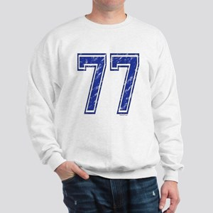 77 Jersey Year Sweatshirt